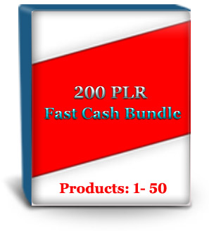 Unrestricted PLR Products #1 - 50