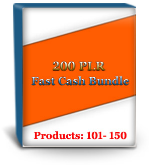 Unrestricted PLR Products #101 - 150