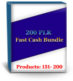 Unrestricted PLR Products #151 - 200