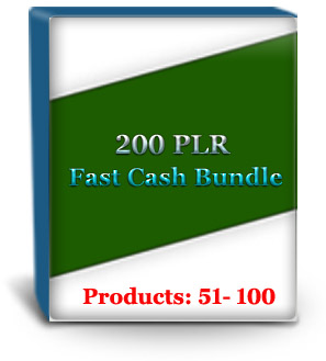 Unrestricted PLR Products #51 - 100
